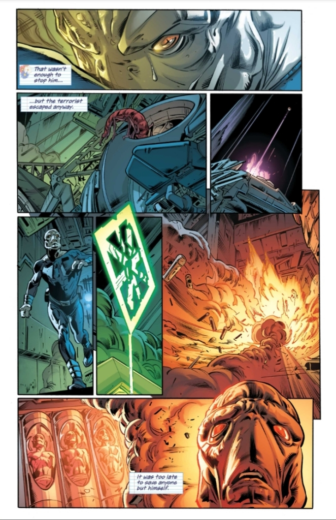 Icon & Rocket Season One Issue One Preview Page Four