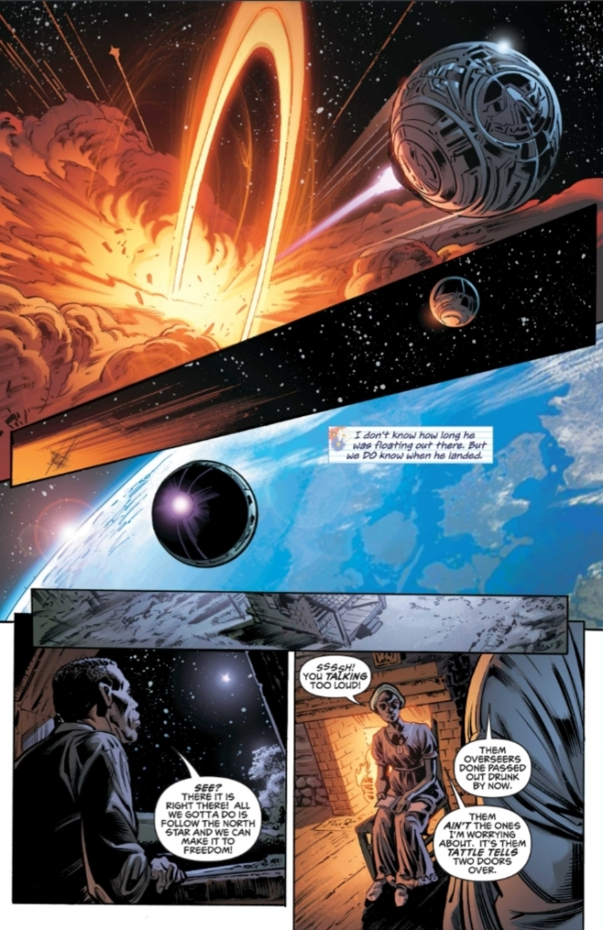 Icon & Rocket Season One Issue One Preview Page Five