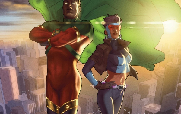 Icon and Rocket Issue One Cover Header