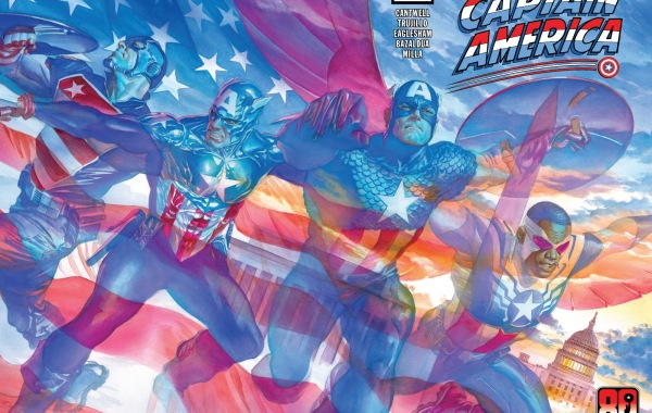 United States of Captain America Issue One Cover