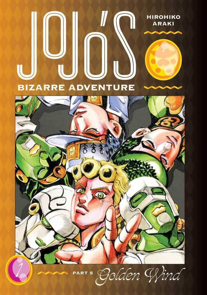 Jojo's Bizarre Adventure Golden Wind Volume One Cover