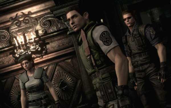 Resident Evil Remake 1 Visual