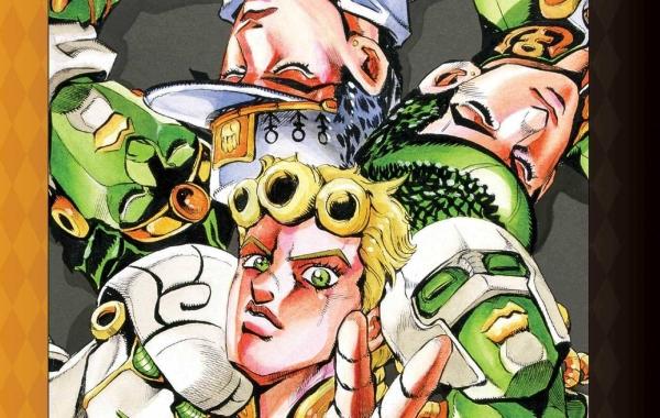 Jojo's Bizarre Adventure Golden Wind Manga Teaser