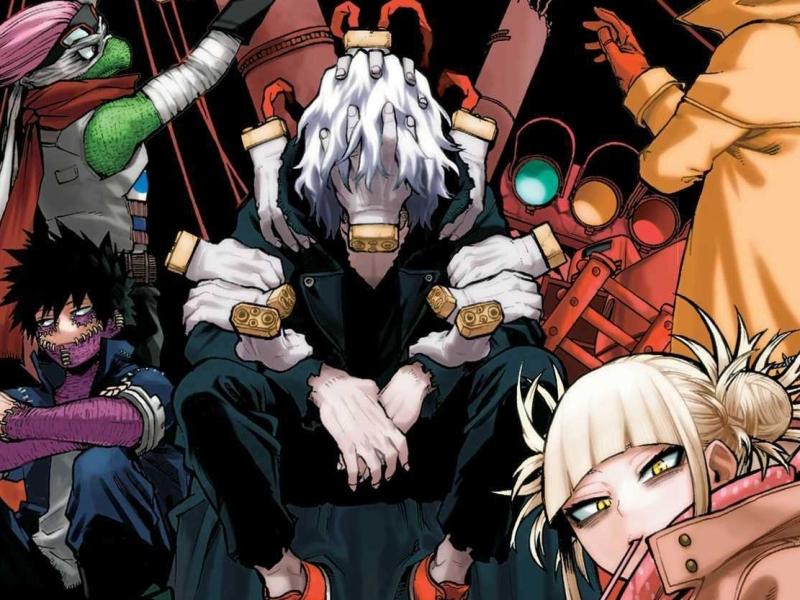 My Hero Academia Vol. 24 Header