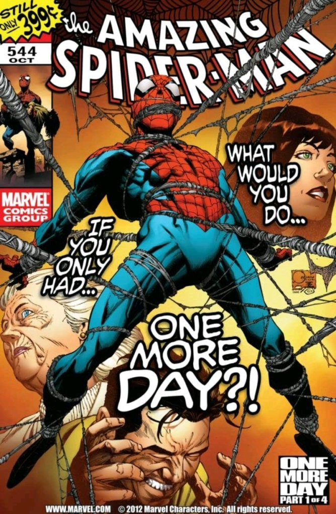 Amazing Spider-Man Issue 544 Cover