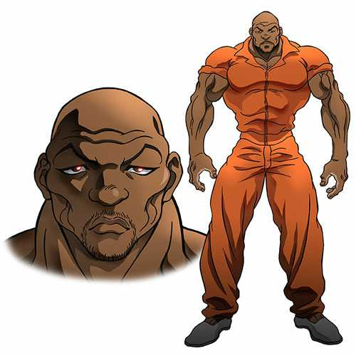 Iron Michael- Baki Son of Ogre