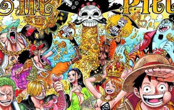 One Piece 1000 Color Spread