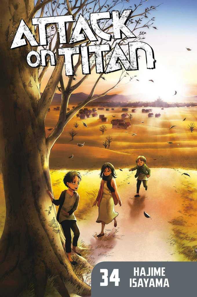 Attack on Titan Volume 34 Cover