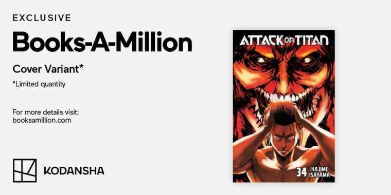 Books-A-Million Attack on Titan Finale Exclusive