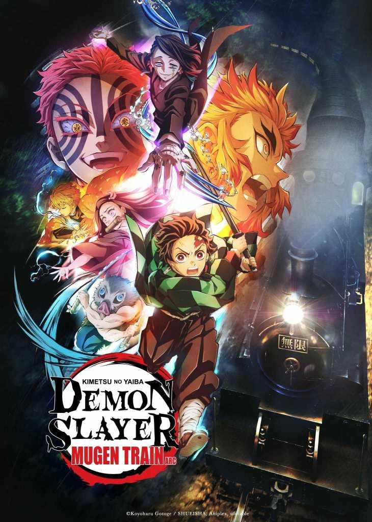 Demon Slayer Mugen Train Arc Key Visual