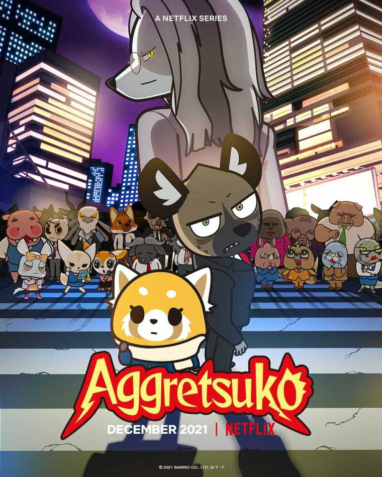 Aggretsuko Season Four Visual