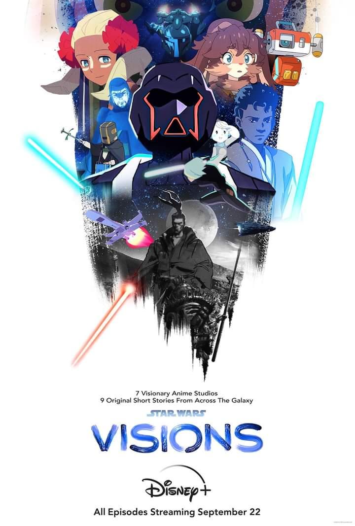 Star Wars: Visions Disney Plus Visual