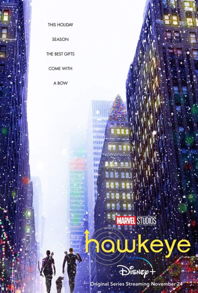 Hawkeye Promotional Poster