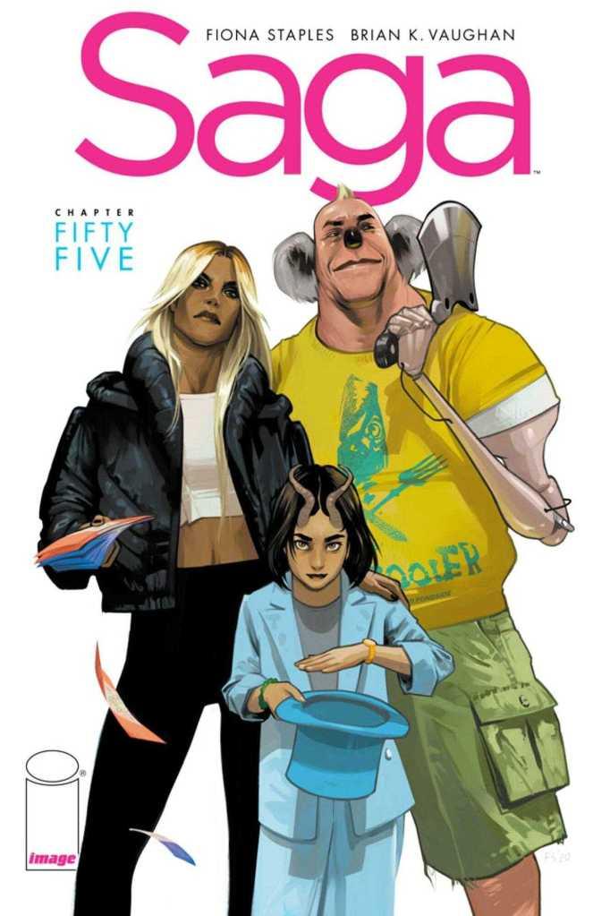 Saga Issue 55 Cover